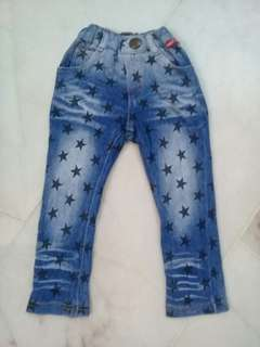 2-3 years Girl Jegging (star)