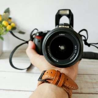DSLR Nikon D40 + Lensa kit 18-55 Murah Meriah