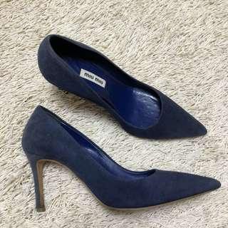Authentic MIU MIU Suede Pumps Shoes