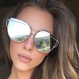 Mirrored Reflective Sunglasses