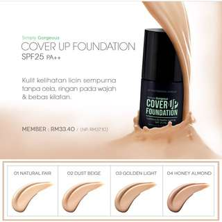 Cover up foundation