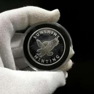 Sunshine Mint (MintMark SI) 1oz Silver Round