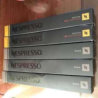 Nespresso volluto Roma capsule coffee