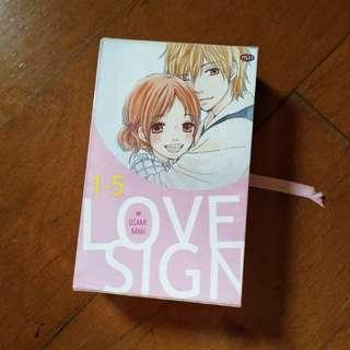 Komik Manga Love Sign