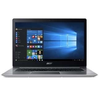 "Acer Swift 3 SF314-52-549V 14"" IPS FHD Laptop Sparkly Silver (I5-8250U, 4GB, 256GB, Intel, W10)"