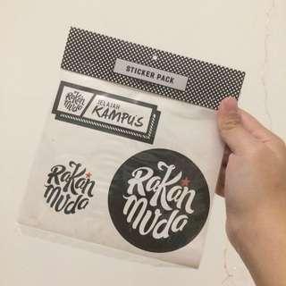 [PWP FOC] Rakan Muda Stickers