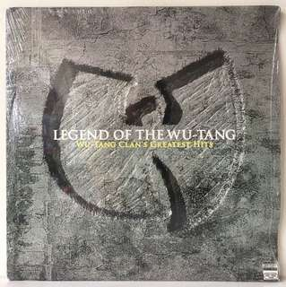 Wu-Tang Clan ‎– Legend Of The Wu-Tang: Wu-Tang Clan's Greatest Hits (2004 USA Original 2LP - Vinyl is Mint)