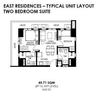 45.71sqm Unit - Resort Type Condo, San Juan City