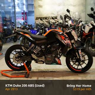 KTM Duke 200 ABS (Used 2013)