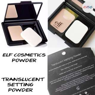 BN Elf Cosmetics Translucent Mattifying Powder E.L.F