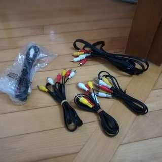 三色線 AV Cable