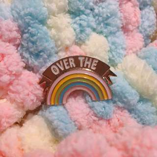 Over the Rainbow Enamel Pin