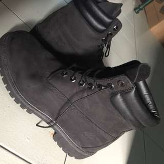 Timberlands 6 inch thread canvas boots