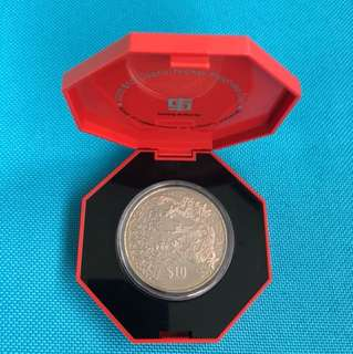 2000 Year of the Dragon $10 Cupro Nickel