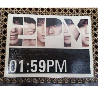 1:59 The first album by 2PM