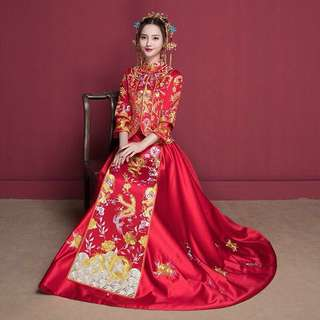 Chinese Wedding Dragon & Phoenix Qun Kwa (Long Feng Kwa) [FOR RENT/SALE]