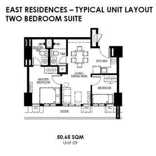 50.65sqm Unit - Resort Type Condo, San Juan City