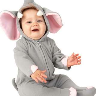 Elephant Costume For Baby
