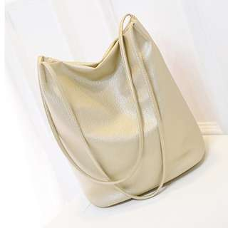 [SALE!] PU Leather Tote Bag