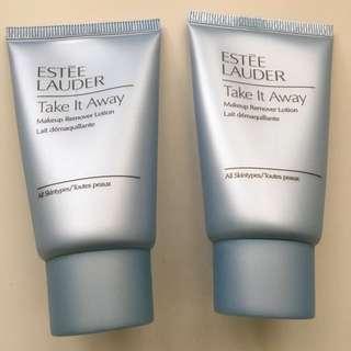 Estée Lauder Makeup Remover, two