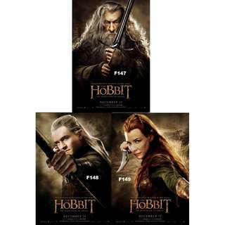 THE HOBBIT MOVIE POSTERS (PART 1)