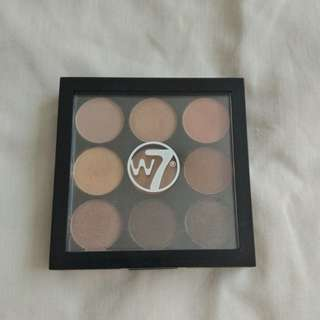 W7 The Naughty Nine Eyeshadow Palette