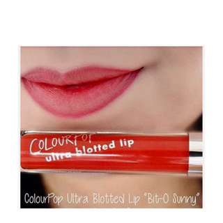 COLOURPOP Ultra Blotted Lip (Matte)