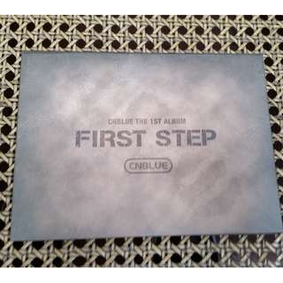 First step The 1st album by CNBLUE