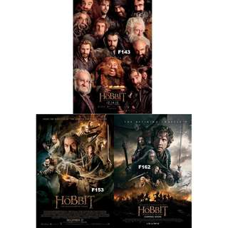 THE HOBBIT MOVIE POSTERS (PART 2)