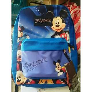 mickey mouse authentic jansport backpack