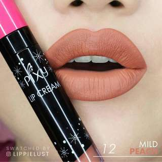 Pixy Lip Cream No. 12 Mild Peach