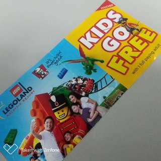 #LEGOLAND Ticket Kids Go Free (with 1 full paying adult)