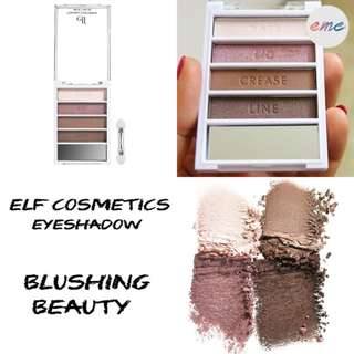 BN Elf Cosmetics Flawless Eyeshadow Blushing Beauty - Pink