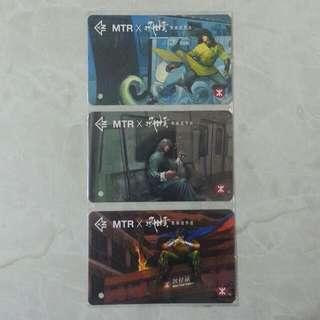 MTR x 風雲紀念車票 (3 張)