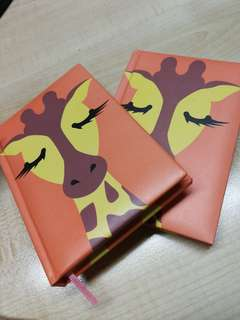 Notebooks - Giraffe