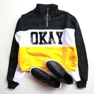 Sweater OKAY H&M ORIGINAL CROP