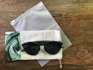Kacamata transparant hitam