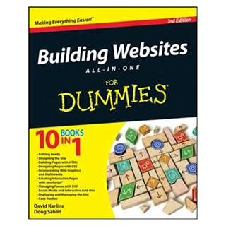 Building Websites All-in-One For Dummies 3rd Edition, Kindle Edition by David Karlins  (Author),‎ Doug Sahlin  (Author)