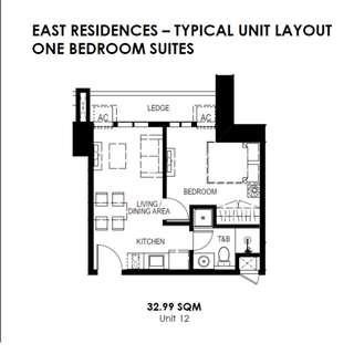 32.99sqm unit - condo for sale, san juan city