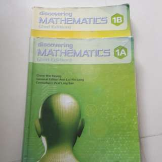 Discovering Mathematics 1A and 1B
