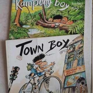 Kampung Boy & Town Boy (Malaysia English)