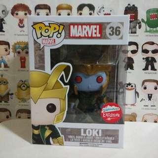 Funko Pop Loki Frost Giant Fugitive Toys Exclusive Vinyl Figure Collectible Toy Gift Movie Thor Marvel Comic