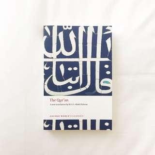 The Quran a new translation by MAS Abdul Haleem