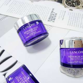 ✨Last Piece! Lancome Renergie Nuit Multi-Lift Redefining Lifting Night Cream 15ml