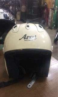Arai Ram2 / visor x de / gear n cover kiri kanan baru /  kondisi 6/10 /size M