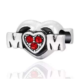 Red Mom Charm