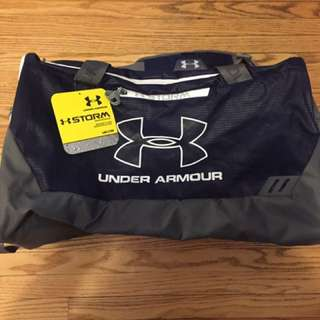 New With Tags under armour gym duffel bag