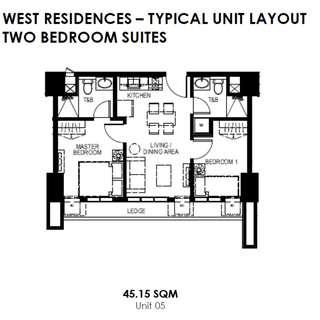 45.15sqm unit, condo for sale