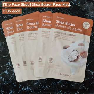 [The Face Shop] Shea Butter Face Mask