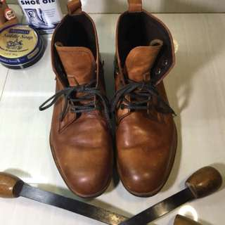 Padrone Chukka Boot Made in Japan - Repriced